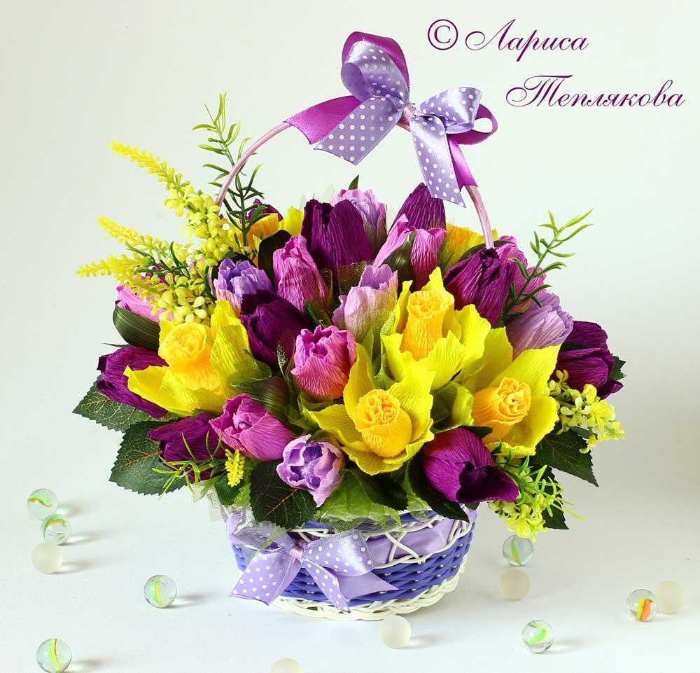Цветы из конфет композиции 36